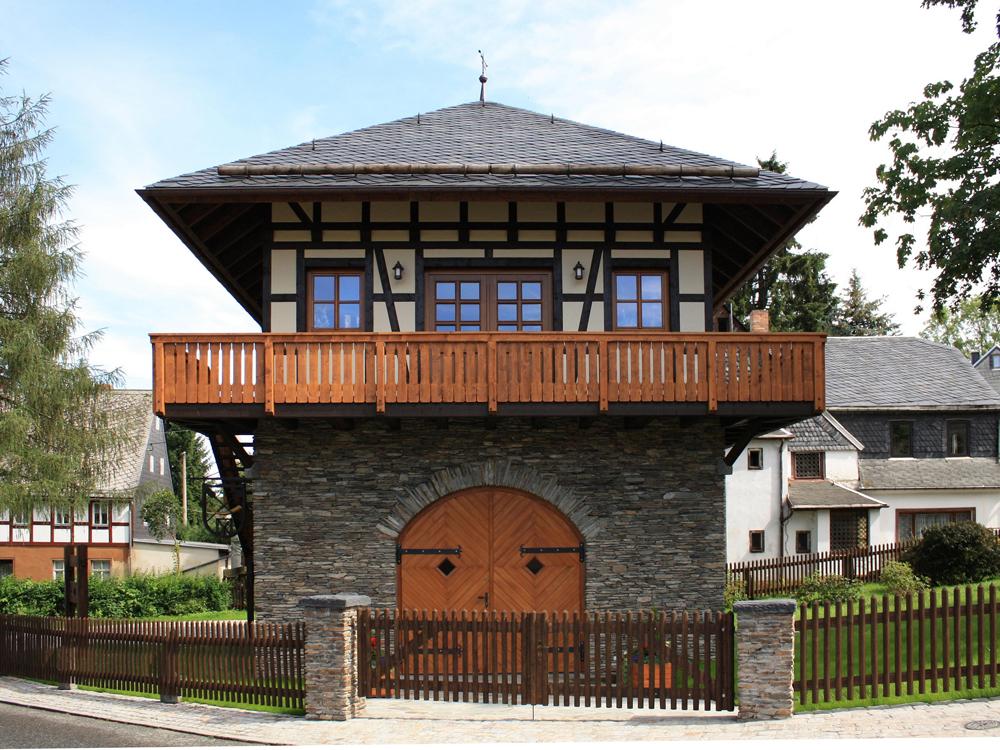 Nachbau einer Fronveste in Zwönitz