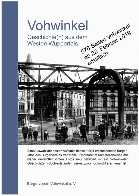 """Titelseite des Buches """"Vohwinkel – Geschichte(n) aus dem Westen Wuppertals"""""""