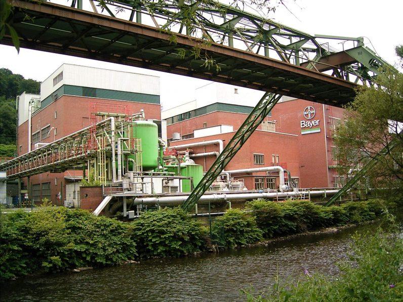 Das Bayer-Werk in Wuppertal