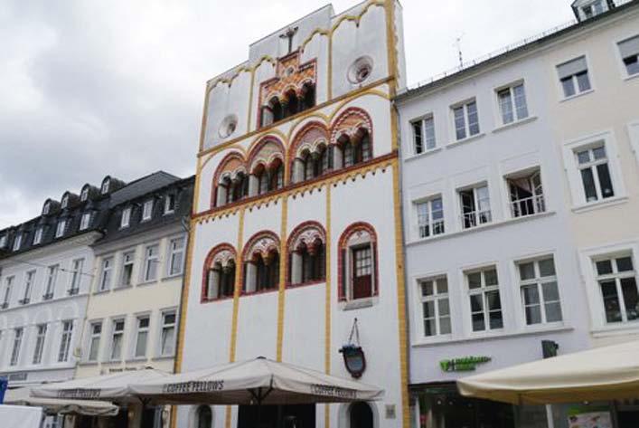 Trier - Dreikönigenhaus