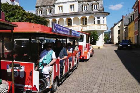 Saarburg - Stadtrundfahrt mit der Saartalbahn