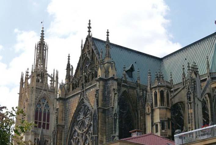 Metz - Kathedrale Saint Etienne