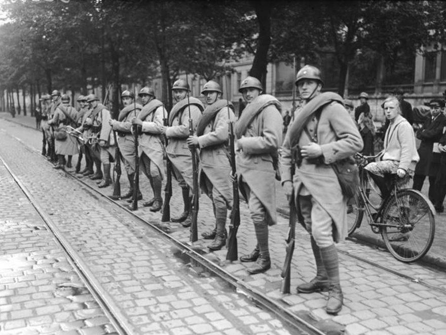 Französische Besatzung